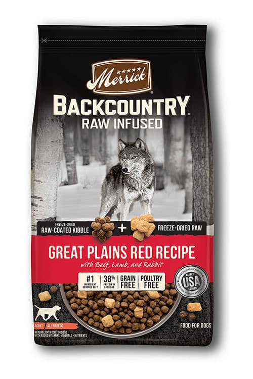 backcountry raw infused dry dog food