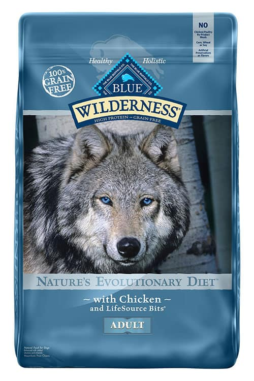 blue wilderness high protein dog food