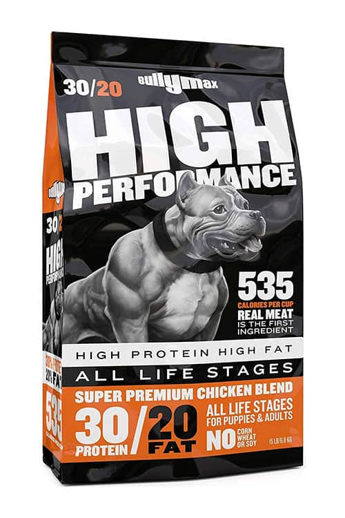 Bullymax high performance dog food for american pit bulls