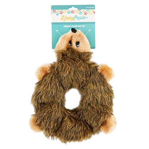 hedgehog dog plush toy